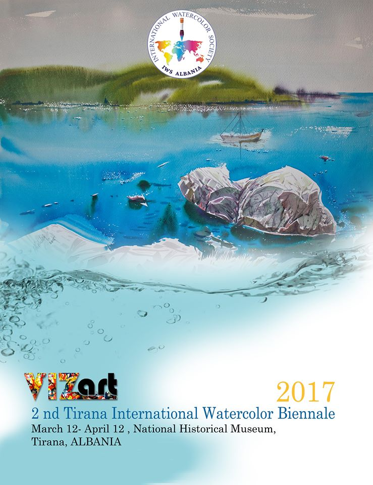 2nd Tirana International Watercolor Biennale 2017