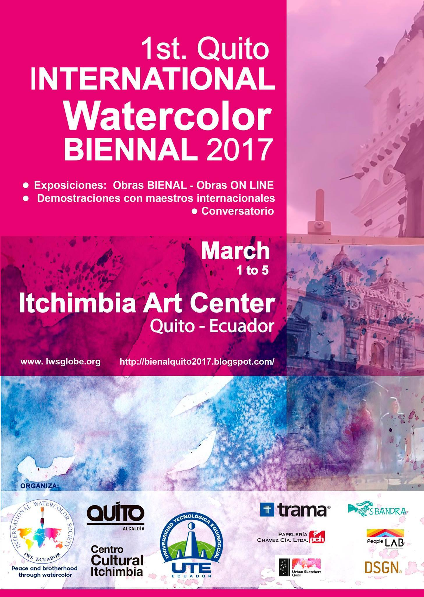 1st Quito International Watercolor Biennale 2017